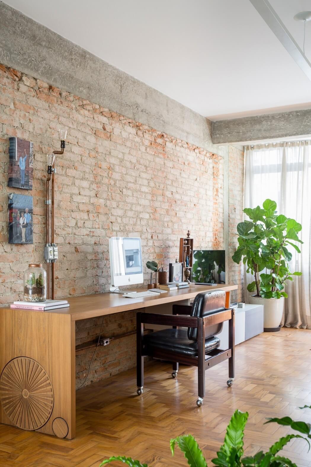 Un appartement convivial situ sao paolo au design - Appartement interieur design ...