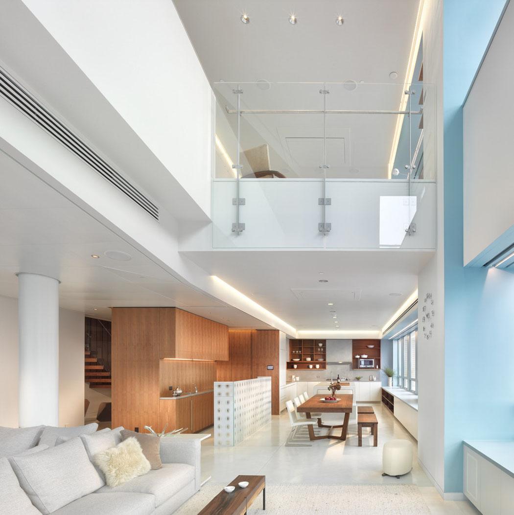 Ambiance accueillante l gante pour ce joli appartement - Appartement duplex winder gibson architecte ...