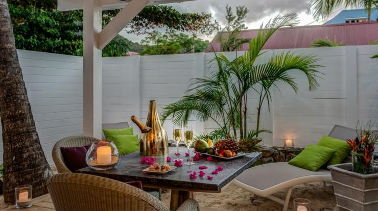 location de vacances romantique shambala villas st martin vivons maison. Black Bedroom Furniture Sets. Home Design Ideas