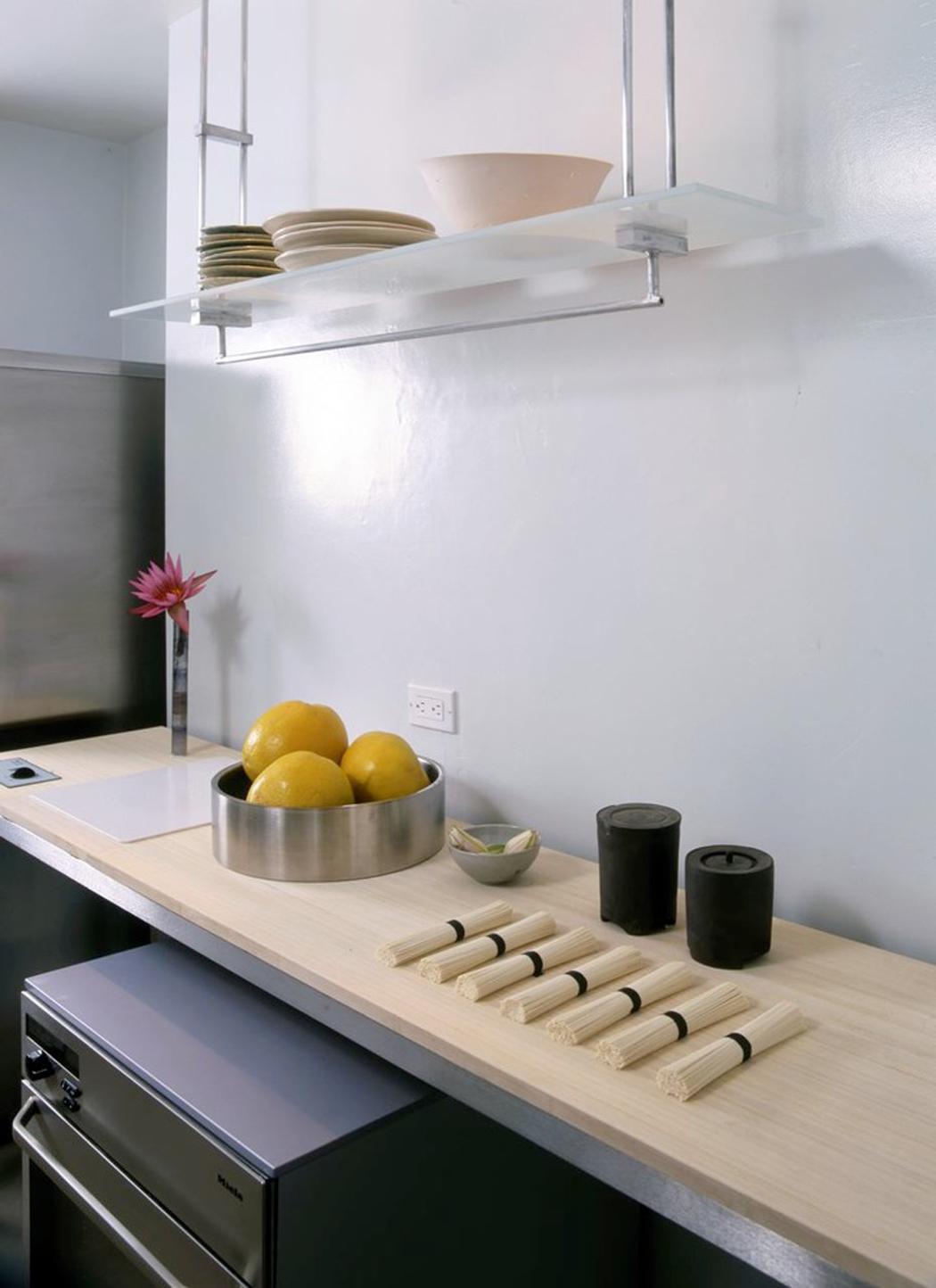 Decoration Cuisine Rideau : Cuisine design minimaliste et zen
