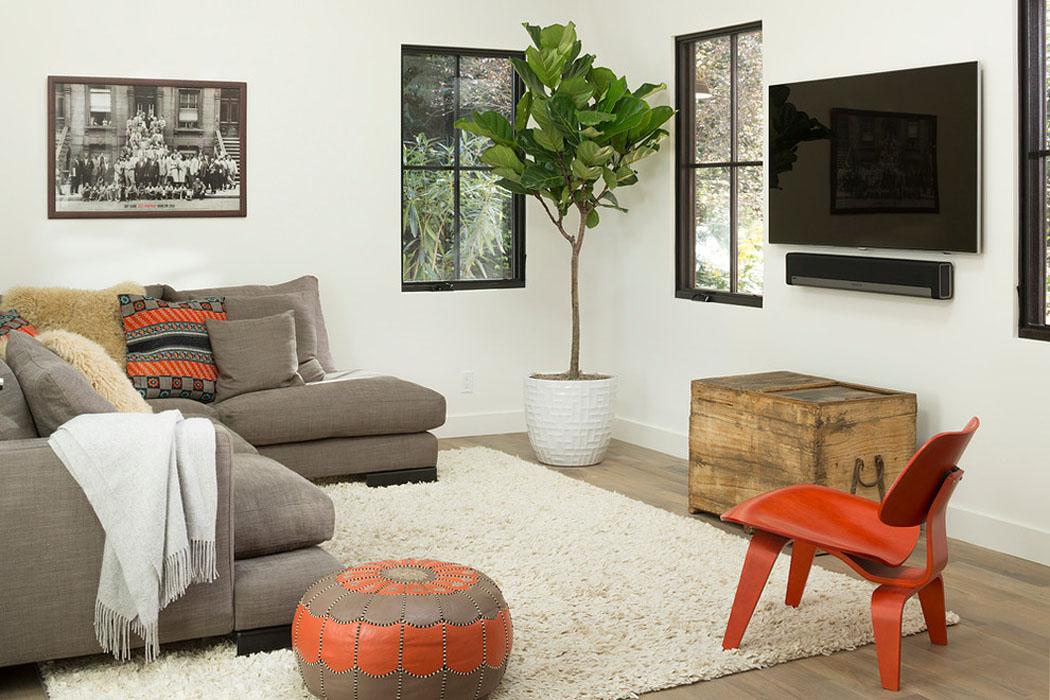 Salon Tres Simple Et Chic : Jolie maison familiale totalement rénovée dans les