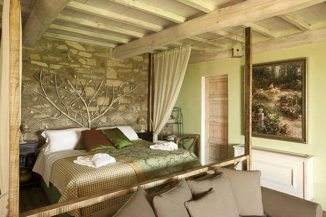Une ancienne maison de charme au c ur de la c l bre r gion - Decor de chambre a coucher champetre ...