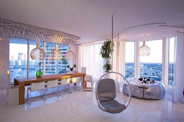 Appartement de ville williams island en floride vivons maison - Appartement moderne de ville decor design ...