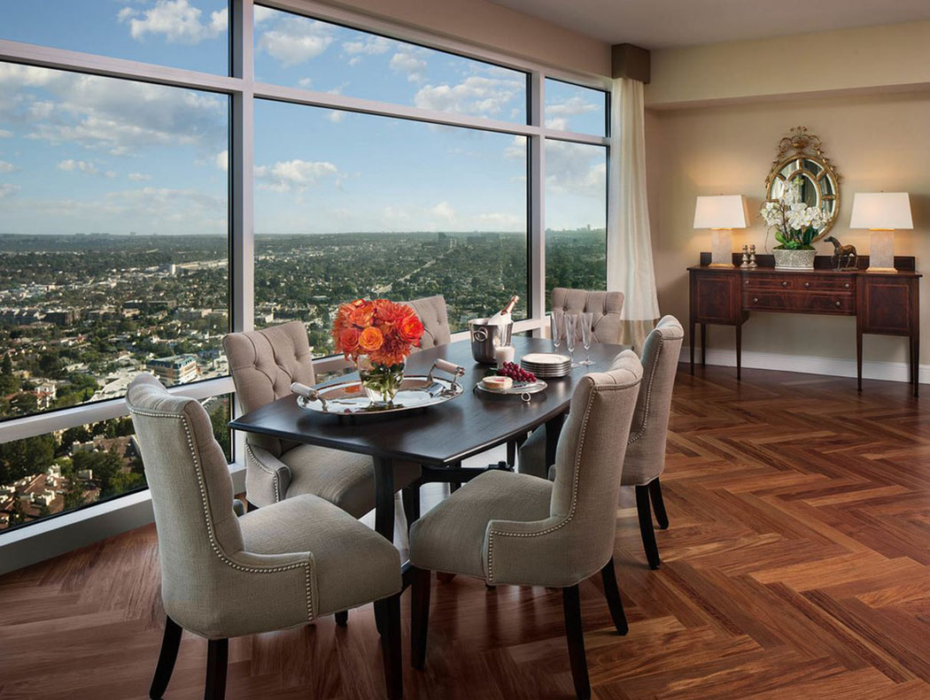 Projets d appartement avec vue imprenable sur la ville for Maison avec appartement