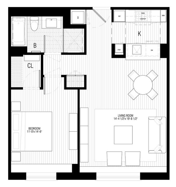 Plan Appartement De Luxe : Petit appartement design au cœur de manhattan vivons maison