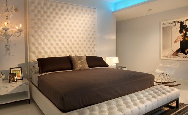 Chambre à coucher luxueuse et minimaliste chambre minimaliste luxe