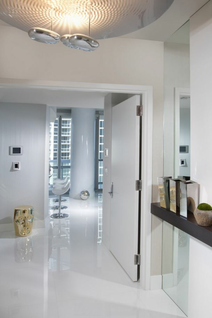 Vacances exotiques dans un appartement de luxe miami for Entree appartement design