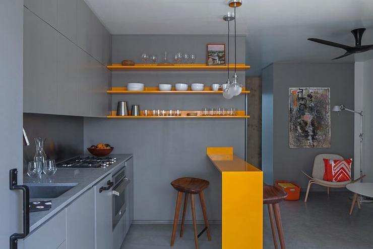 Appartement de ville de 30 m venice beach en californie for Cuisine pour petit appartement