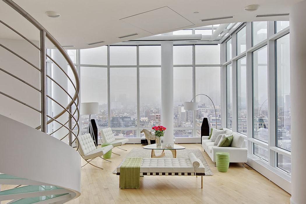 Bel appartement de standing avec vue imprenable sur for Appartement duplex