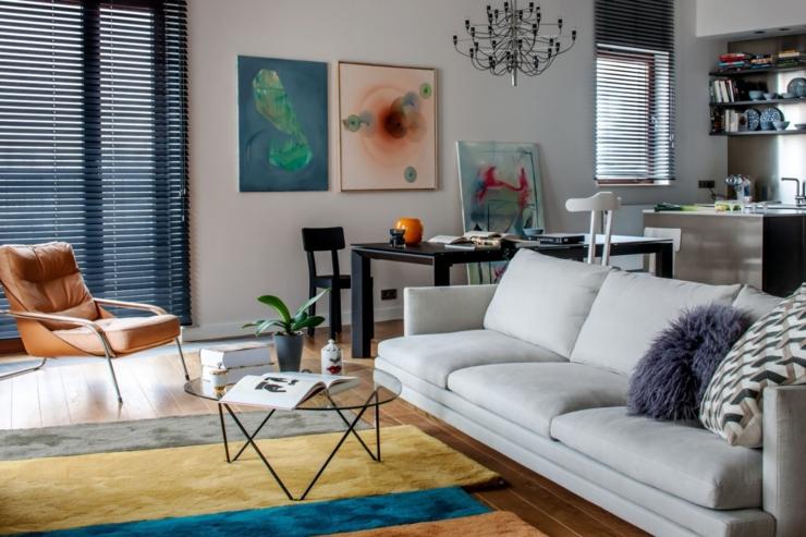 Séjour élégant à Lu0027ameublement Moderne Et Luxueux. Design Intérieur Appartement  Moderne