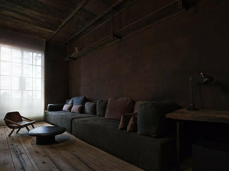 appartement de ville au design cr atif new york vivons. Black Bedroom Furniture Sets. Home Design Ideas