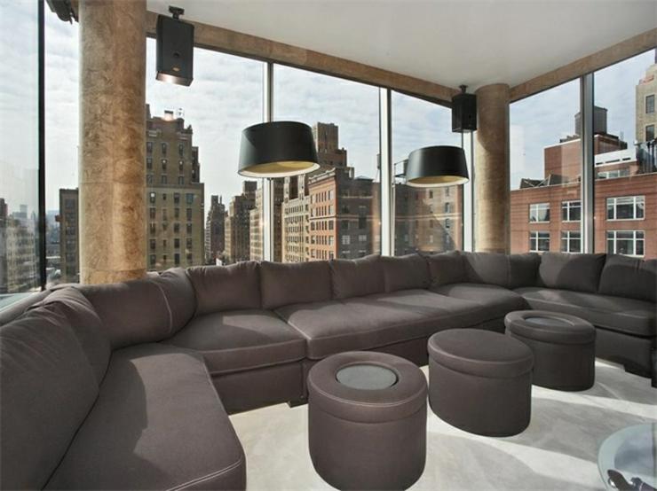 Immobilier de luxe la vue panoramique sur manhattan vivons maison - Appartement de luxe new york ...