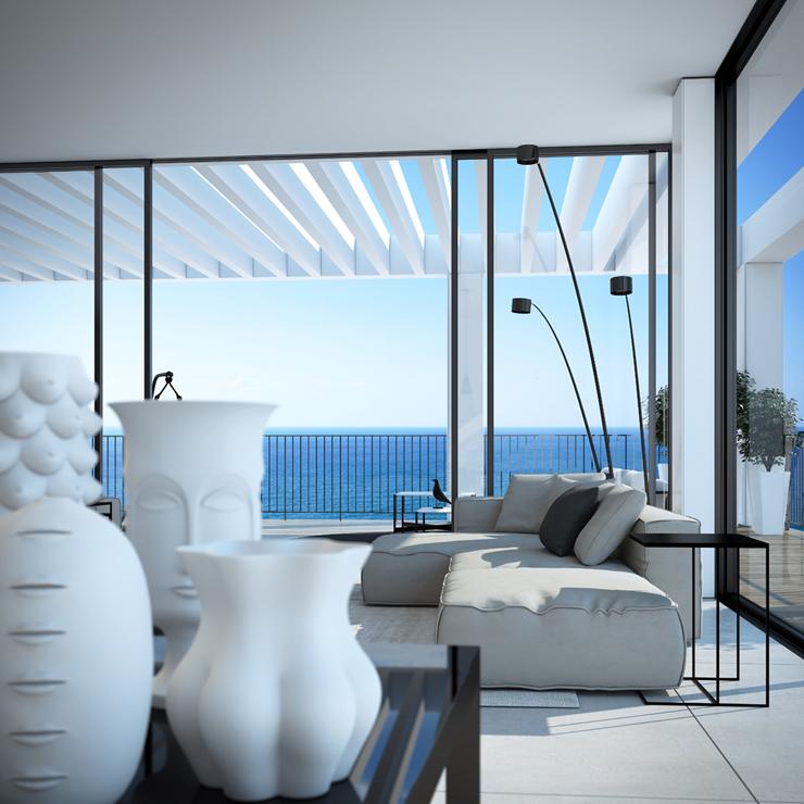 Appartement de luxe en construction sur la c te - Appartement de vacances styleshous design ...