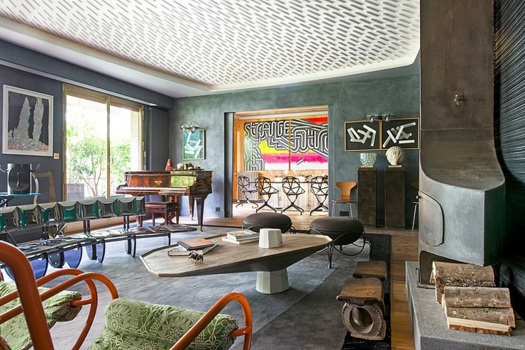 Appartement de luxe au design clectique paris vivons maison for Comdeco interieur appartement