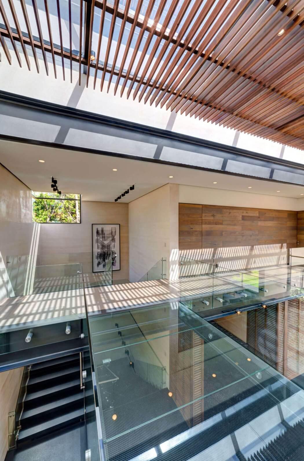 Maison Avec Passerelle Intérieure belle résidence de standing à l'architecture contemporaine