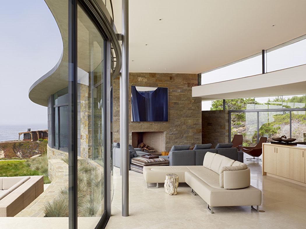 Contemporaine et luxueuse maison avec vue imprenable sur l - Maison en australie avec vue magnifique sur locean ...