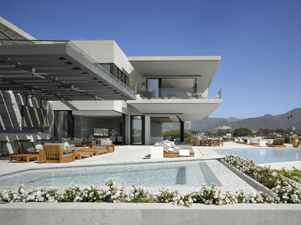 Maison Neuve Avec Vue Sur L Eau L Architecture Inspir E Des Ann Es 50 Vivons Maison