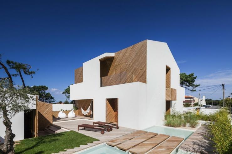 Belle maison d architecte au portugal vivons maison - La demeure moderne gb house par mmeb architects ...