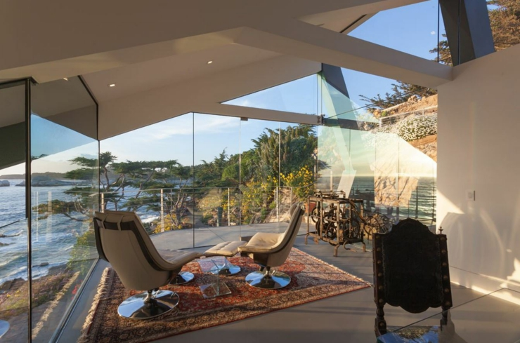 Architecture Moderne Pour Une Maison Californienne Perch E Sur La Colline Vivons Maison