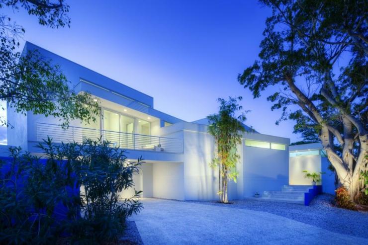 Architecture contemporaine pour une r sidence de luxe - Architecture contemporaine residence parks ...