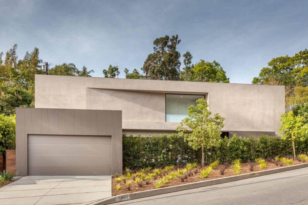 Belle maison neuve los angeles caract ris e par une - Belle architecture moderne ...