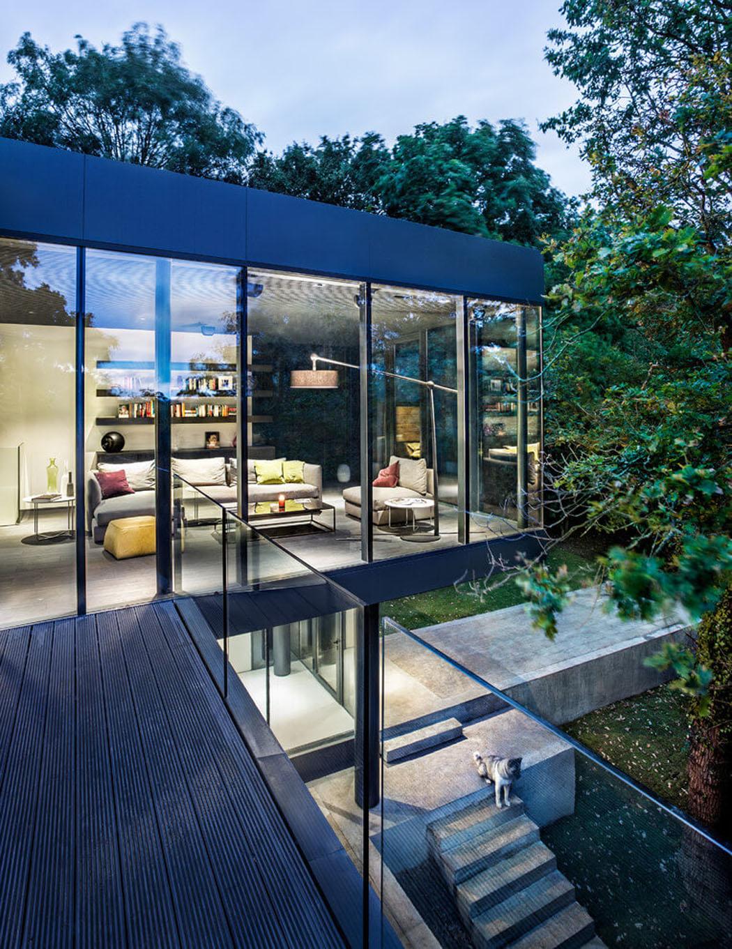 Projet de modernisation et d agrandissement de cette jolie for Entree maison exterieur originale