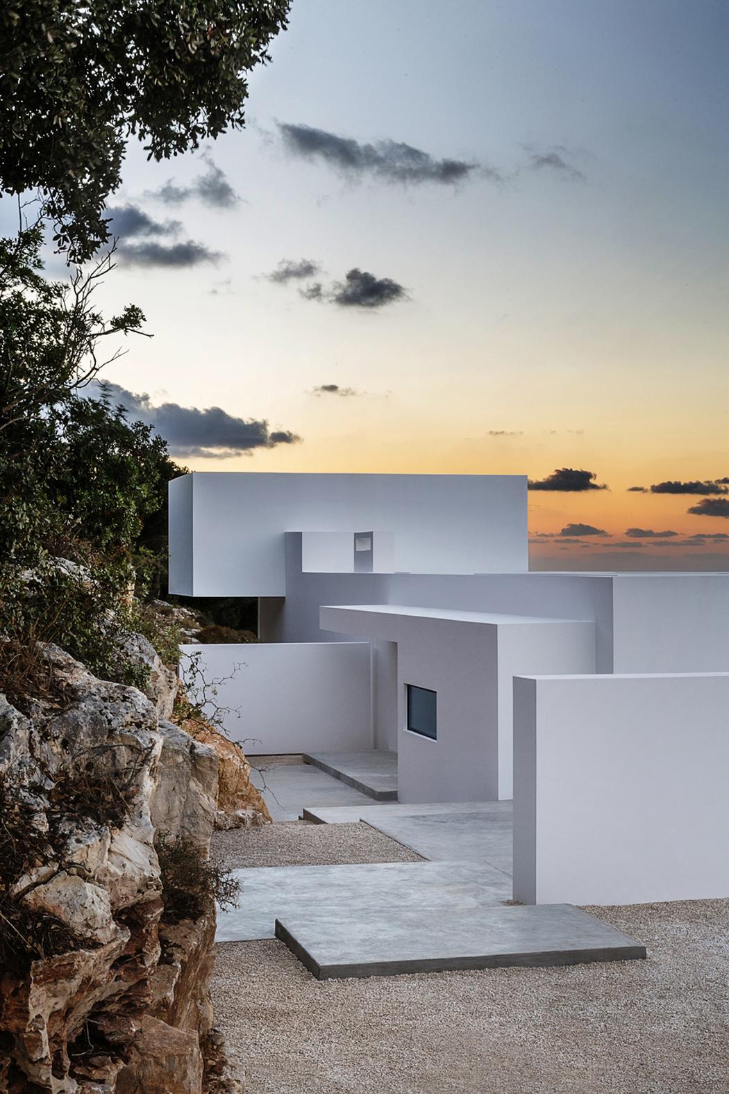 Magnifique villa contemporaine en gr ce avec vue imprenable sur la mer vivons maison - Villa de vacances exotiques island views ...