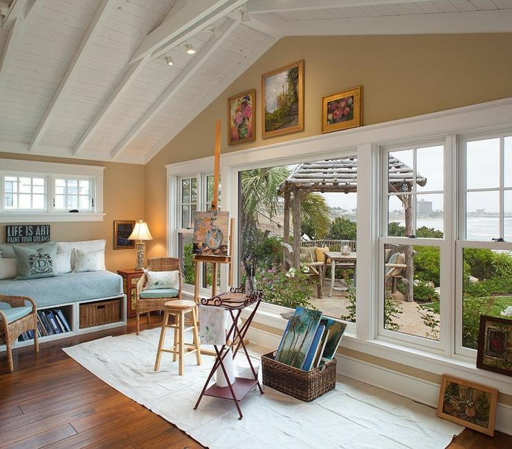 magnifique maison de vacances au charme rustique en californie vivons maison. Black Bedroom Furniture Sets. Home Design Ideas