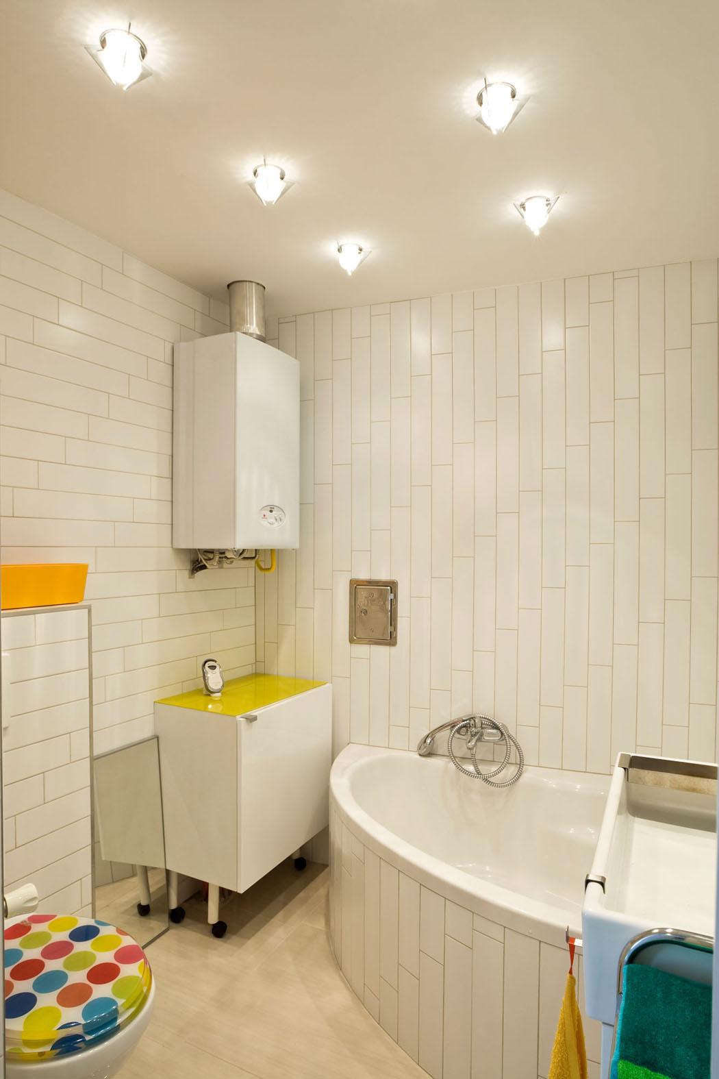Salle de bain petite et moderne for Petite salle de bain avec toilette