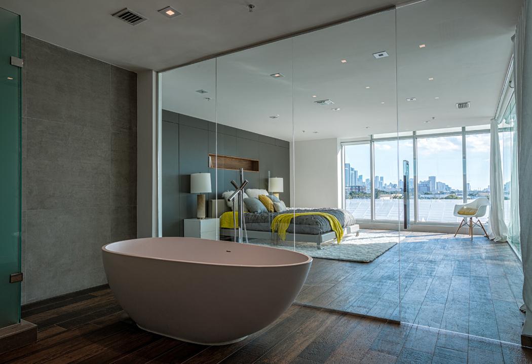 Bel appartement en duplex au design moderne situé à Miami | Vivons ...