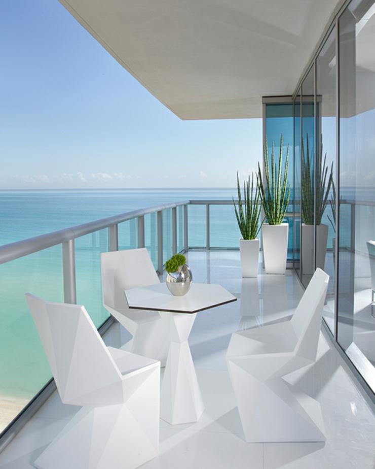 vacances exotiques dans un appartement de luxe miami vivons maison. Black Bedroom Furniture Sets. Home Design Ideas