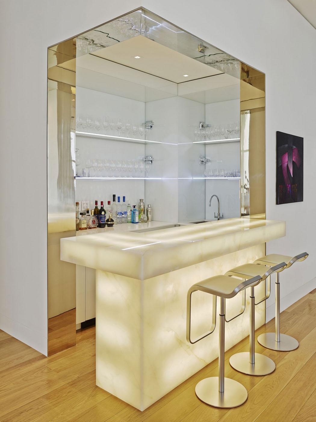 R sidence de standing l int rieur et prestation d un - Appartement luxe paris avec design sophistique et elegant ...