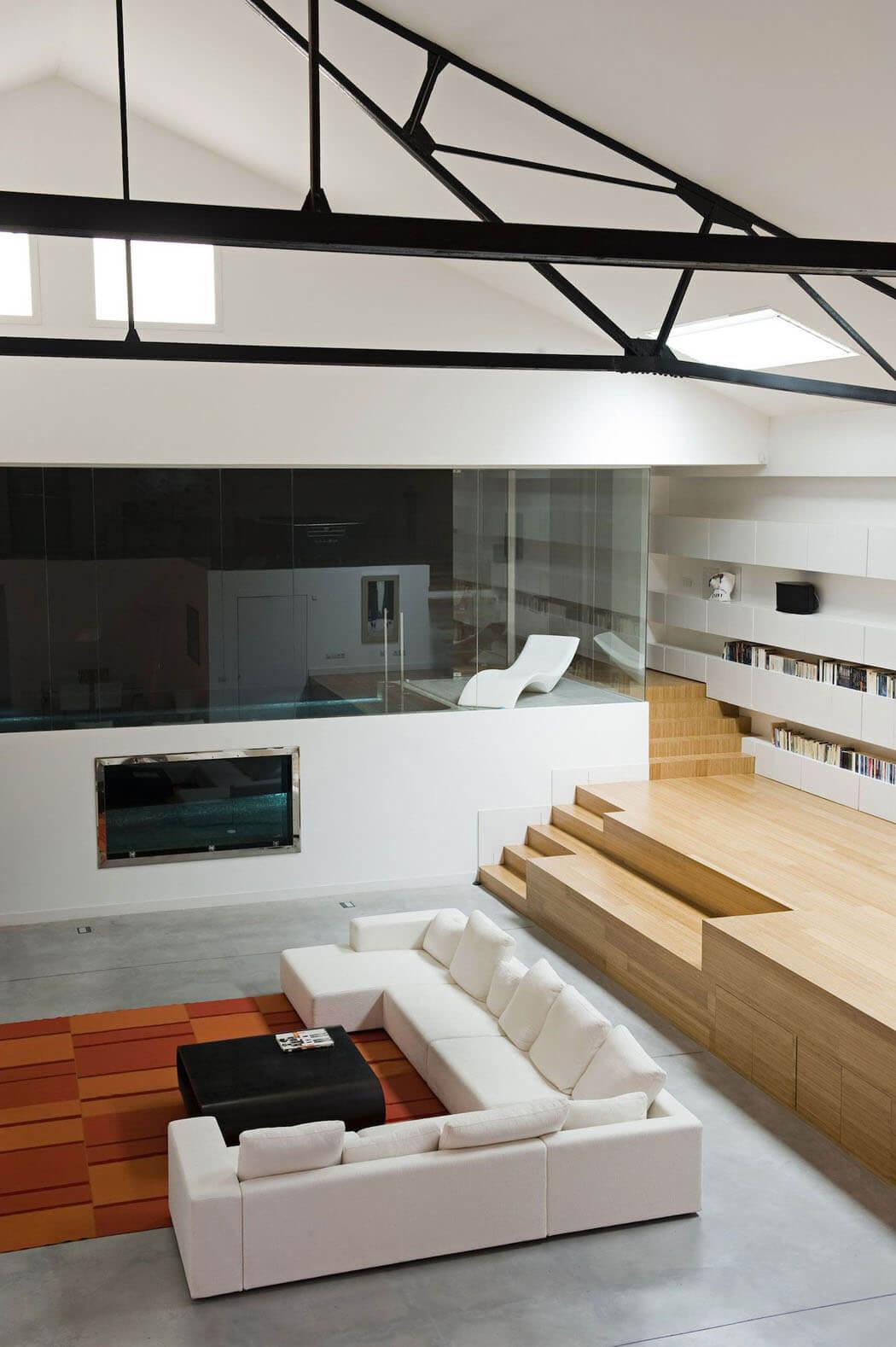 La transformation d un entrep t industriel en jolie maison - Maison de ville moderne design klein ...