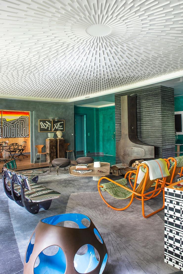 Appartement De Luxe Au Design Clectique Paris Vivons Maison