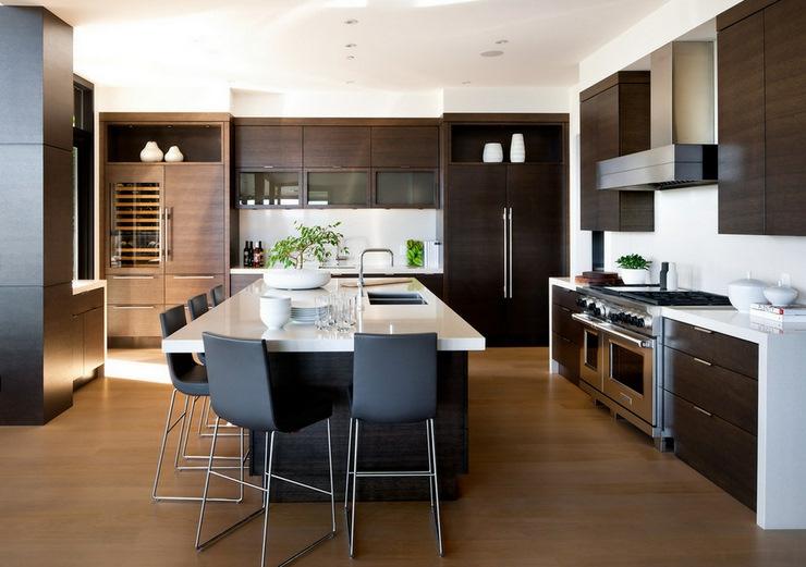 Prestigieuse maison moderne avec vue sur la mer for Amenagement cuisine moderne