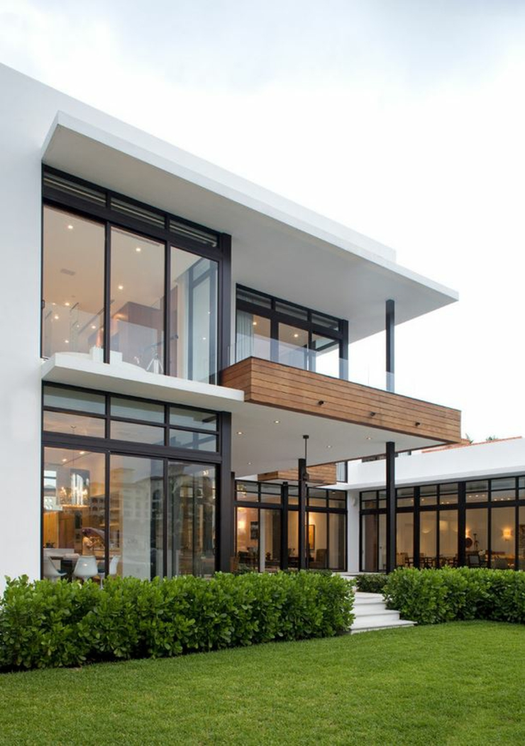 Maison contemporaine de standing situ e en floride Architect florida