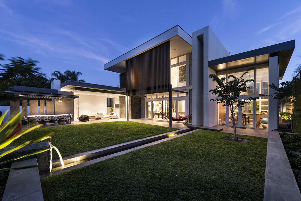 R sidence principale de ville l architecture - Architecture contemporaine residence parks ...