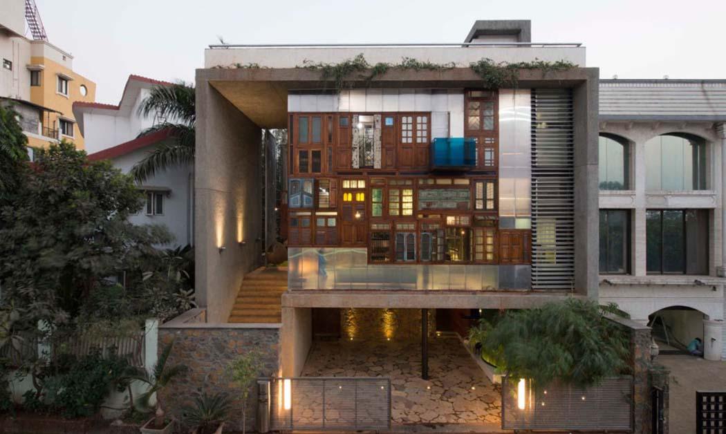 Originale et int ressante maison de charme la fa ade for Architecture originale