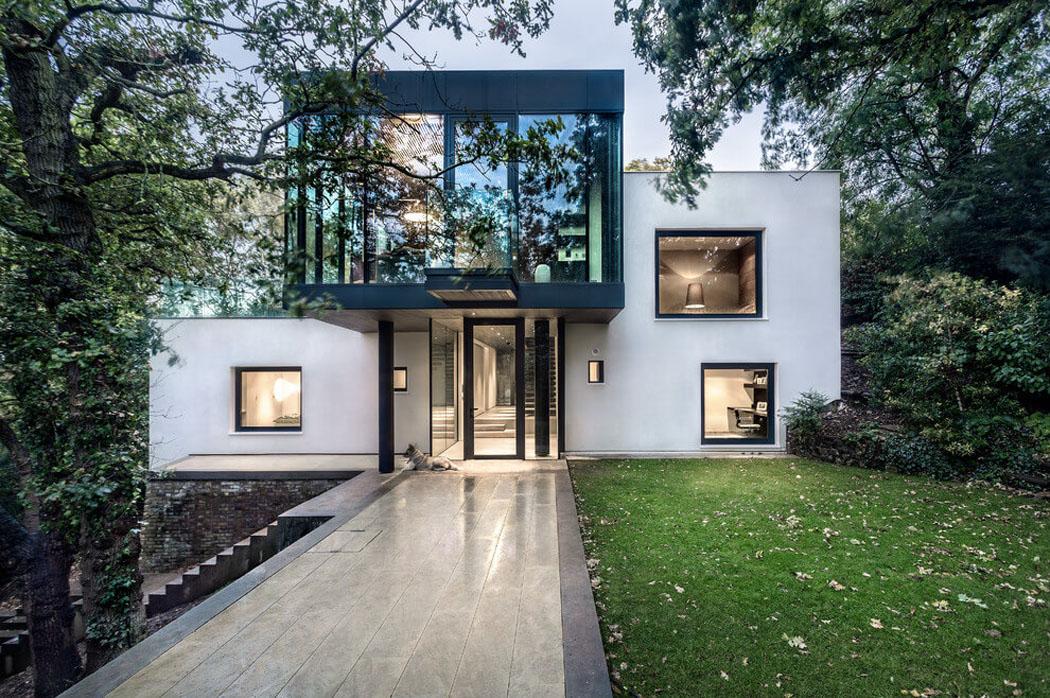 projet de modernisation et d agrandissement de cette jolie maison r nov e pr s de londres. Black Bedroom Furniture Sets. Home Design Ideas