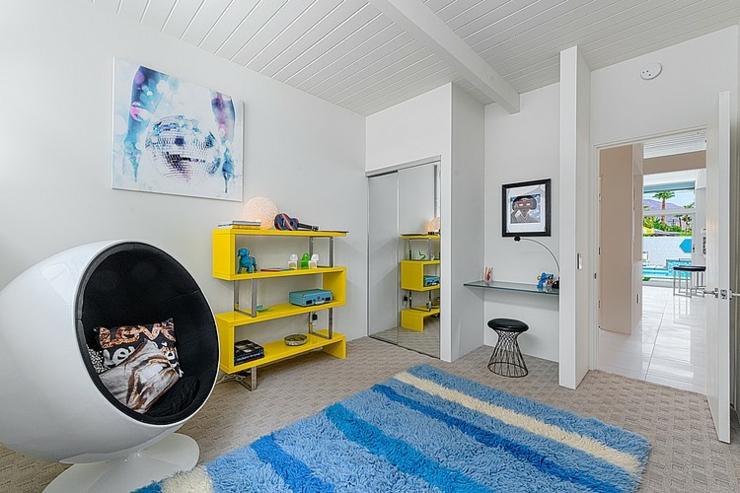 Belle demeure contemporaine californienne palm springs for Maison americaine interieur