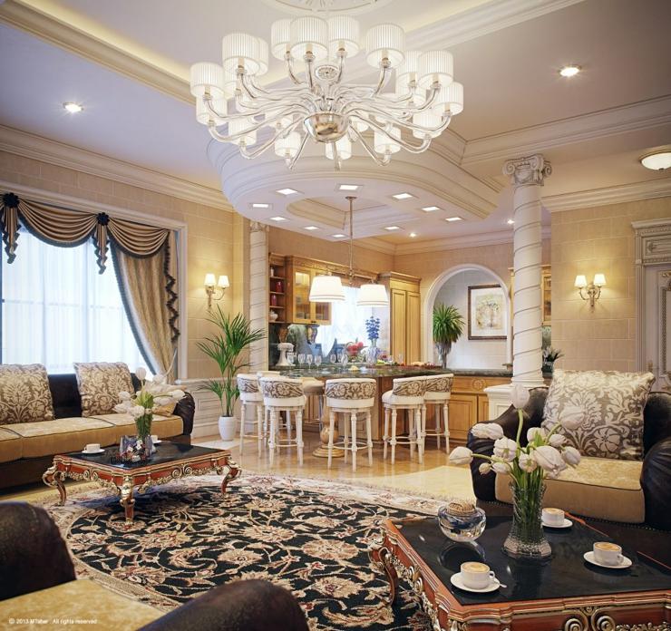 Top Villa de luxe au design d'intérieur oriental au Qatar | Vivons maison SK21