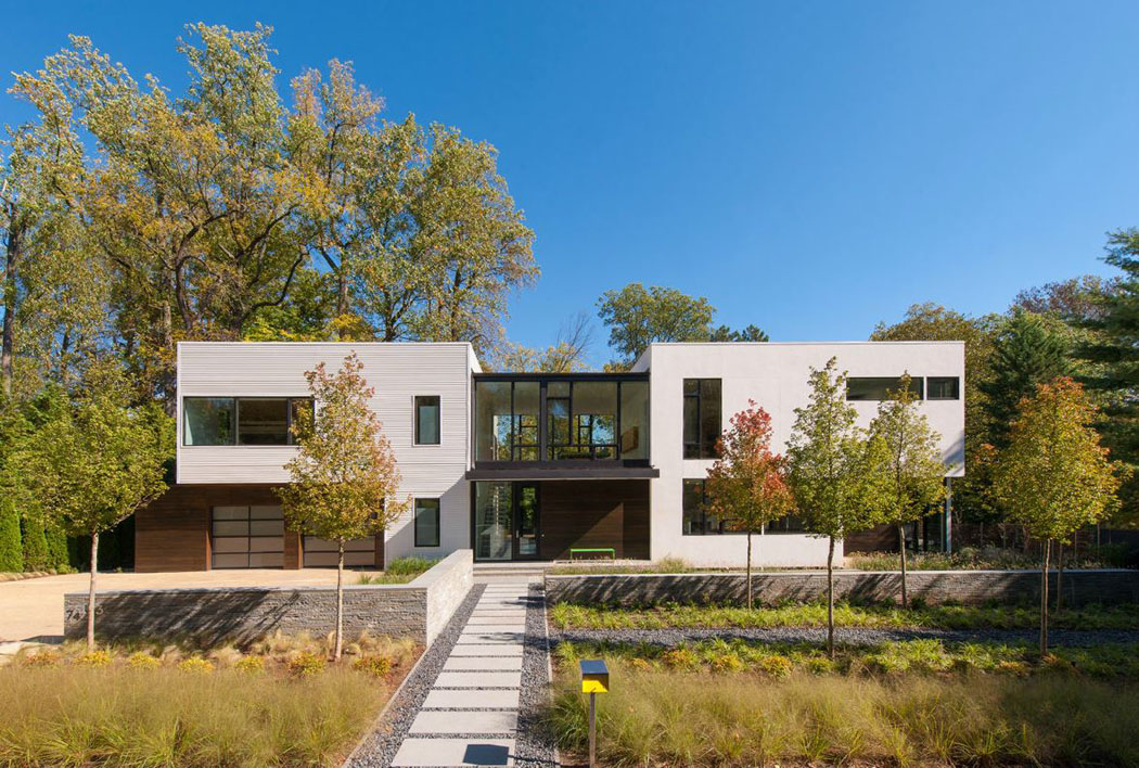 Belle maison modulaire contemporaine washington dc vivons maison - Belle architecture maison ...