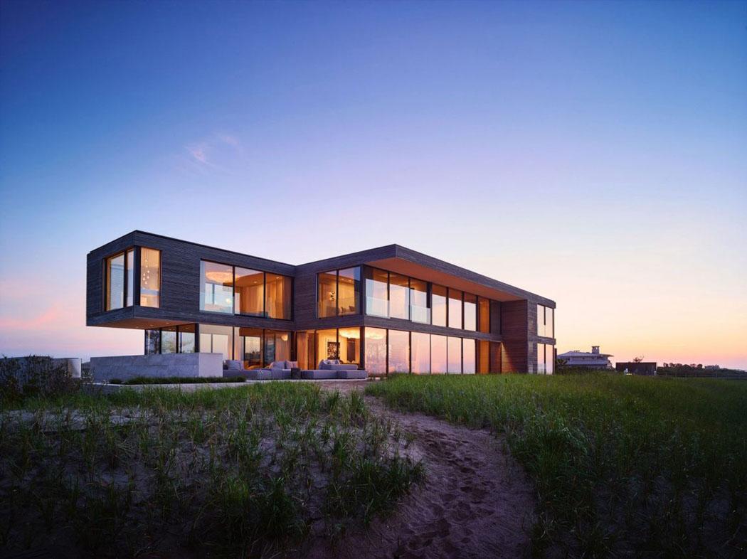 Une belle maison de vacances pr s de new york l - Residence de vacances gedney architecte ...