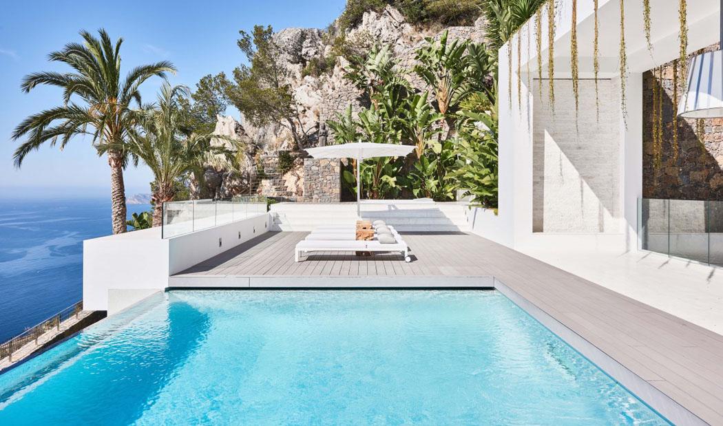 magnifique villa exotique au design int rieur l gant situ e sur la costa blanca vivons maison. Black Bedroom Furniture Sets. Home Design Ideas