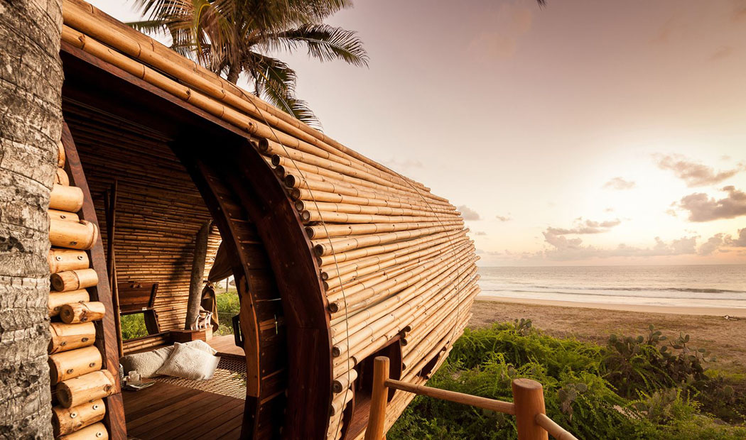 Vacances originales dans cette villa auto suffisante sur la plage mexicaine vivons maison - Vacances originales mexique culsign ...