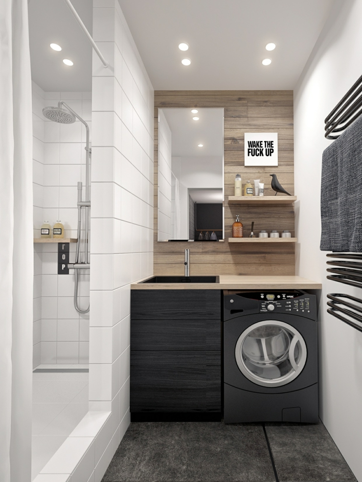 Interieur Design Moderne Pour Un Petit Appartement A Minsk