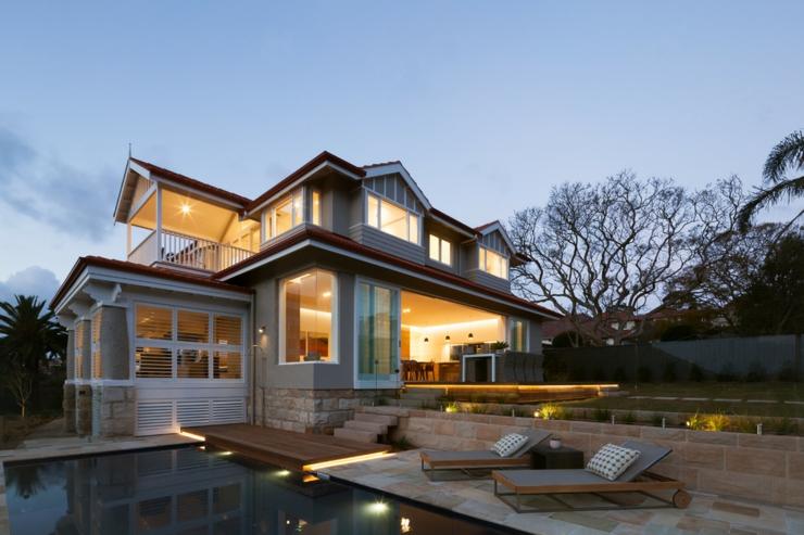 Ancien bungalow transform en maison de charme c ti re for Construction maison de charme