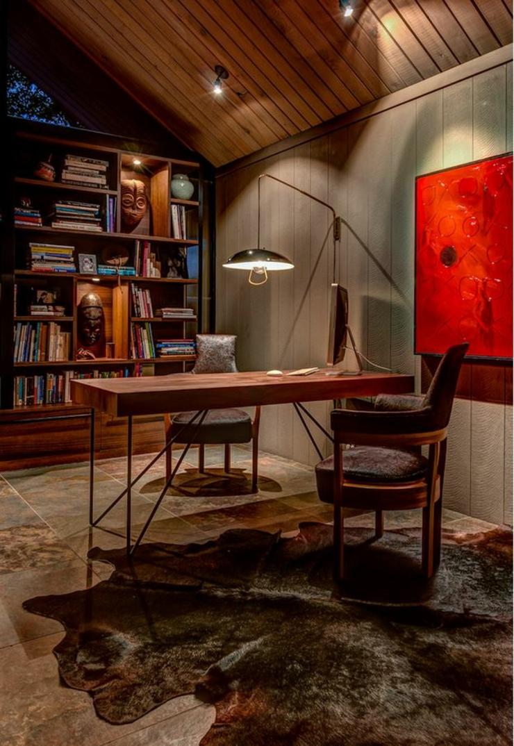 Int rieur design sombre d une jolie maison de plain pied san francisco vivons maison - Interieur eclectique grove design ...