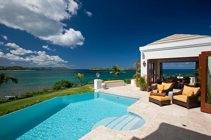 Villa de vacances exotiques aux iles vierges vivons maison - Villa de vacances exotiques island views ...