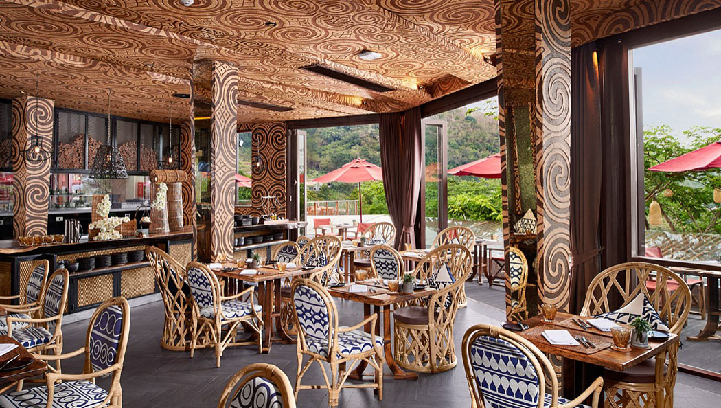 restaurant design tropical exotique vacances phuket
